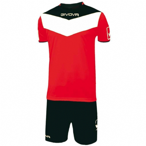Kit Campo Red & Black